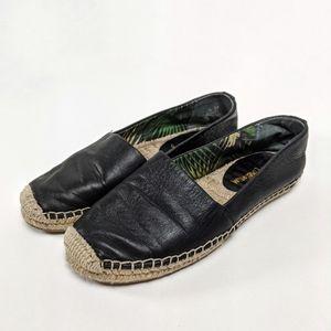 Sam Edelman Lynn Espadrilles Leather Flats 5.5